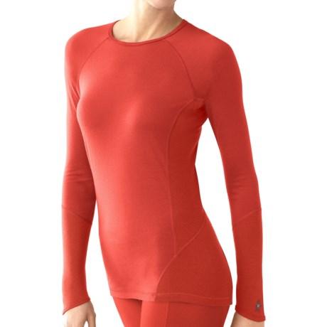 Smartwool NTS Light Base Layer Top - Merino Wool, Long Sleeve (For Women) in Sunrise