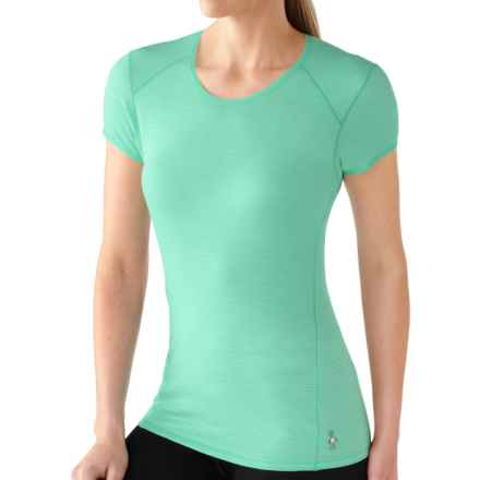 SmartWool NTS Micro 150 Base Layer Top - Merino Wool, Short Sleeve (For Women) in Mint - Closeouts