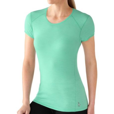 SmartWool NTS Micro 150 Base Layer Top - Merino Wool, Short Sleeve (For Women)