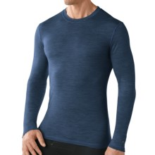 Smartwool NTS Micro 150 Pattern Base Layer Top - Merino Wool, Long Sleeve (For Men) in Cadet Blue - Closeouts