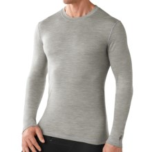 Smartwool NTS Micro 150 Pattern Base Layer Top - Merino Wool, Long Sleeve (For Men) in Silver Gray Heather - Closeouts
