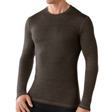 Smartwool NTS Micro 150 Pattern Base Layer Top - Merino Wool, Long Sleeve (For Men) in Taupe - Closeouts
