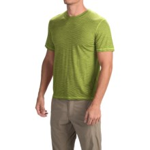 SmartWool NTS Micro 150 Pattern Shirt - Merino Wool, Short Sleeve (For Men) in Smartwool Green - Closeouts
