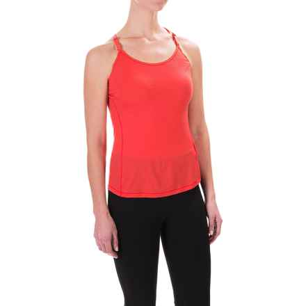 SmartWool NTS Micro 150 Strappy Base Layer Tank Top - Merino Wool (For Women) in Hibiscus - Closeouts