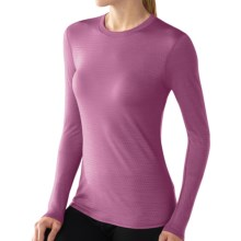 SmartWool NTS Microweight Base Layer Top - Merino Wool, Crew Neck, Long Sleeve (For Women) in Violet - Closeouts