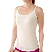 SmartWool NTS Microweight Camisole - Merino Wool (For Women) in Natural Pointlle - 2nds