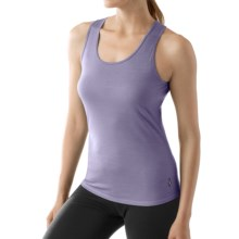 SmartWool NTS Microweight Tank Top - Merino Wool (For Women) in Lavender - 2nds