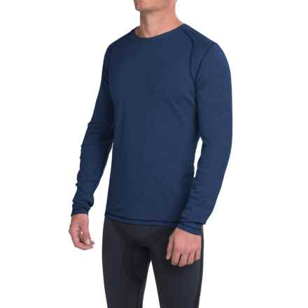 SmartWool NTS Mid 250 Base Layer Top - Merino Wool, Crew Neck, Long Sleeve (For Men) in Indigo Heather - Closeouts