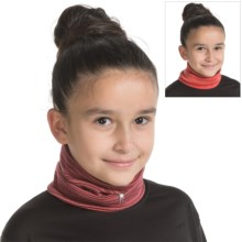 SmartWool NTS Mid 250 Pattern Neck Gaiter - Reversible, Merino Wool (For Little and Big Kids) in Aubergine Heather - Closeouts