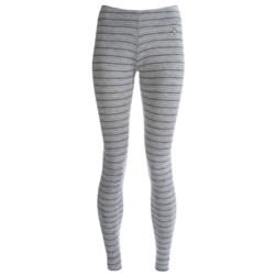 SmartWool NTS Midweight Pattern Base Layer Bottoms - Merino Wool (For Women) in Liberty