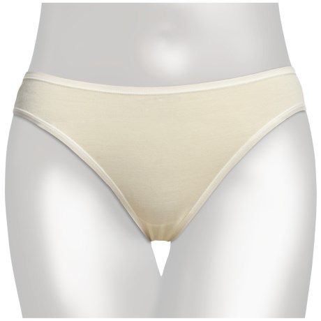 SmartWool NTS Panties - Bikini Briefs, Merino Wool (For Women) in Natural