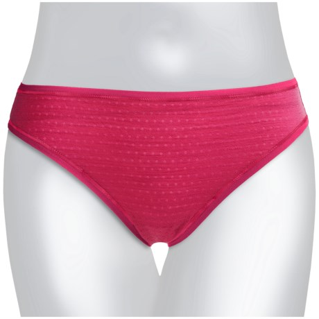 SmartWool NTS Panties - Bikini Briefs, Merino Wool (For Women) in Persian Red