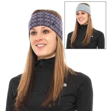 SmartWool NTS Pattern Headband - Merino Wool, Reversible (For Men and Women) in Mountain Purple Heather - Closeouts