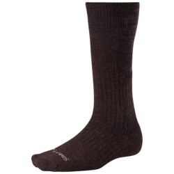 SmartWool On the Job Midweight Socks - Merino Wool (For Men and Women) in Brown