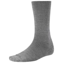 SmartWool On The Job Socks - Ultralight, Crew (For Men and Women) in Grey - 2nds