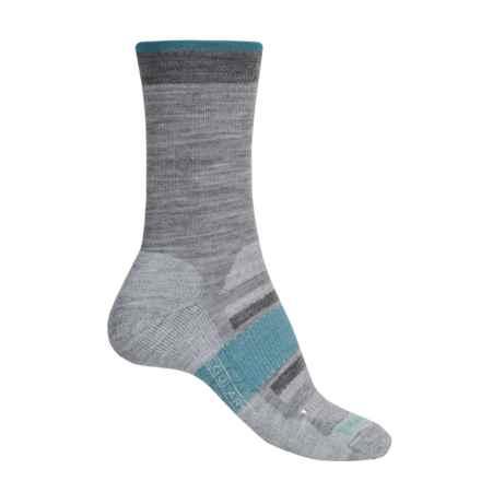 SmartWool Outdoor Advanced Light Socks - Merino Wool, Crew (For Women) in Light Gray - 2nds