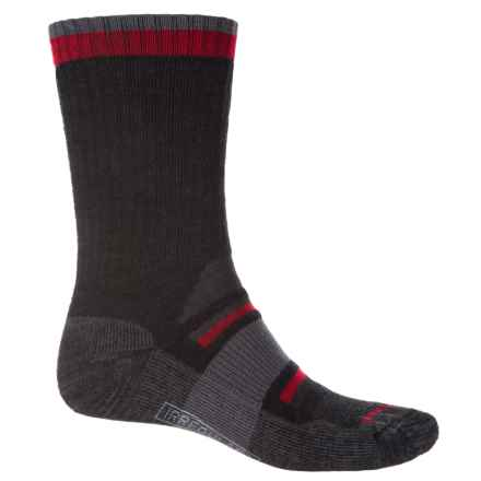 SmartWool Outdoor Advanced Medium Socks - Merino Wool, Crew (For Men and Women) in Charcoal - 2nds