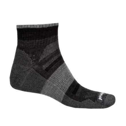 SmartWool Outdoor Advanced Socks - Merino Wool, Ankle (For Men) in Charcoal - 2nds
