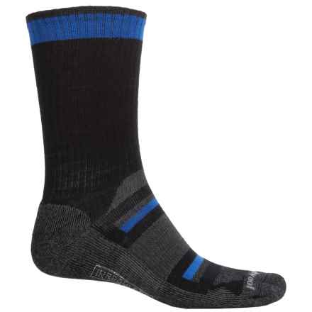 SmartWool Outdoor Advanced Socks - Merino Wool, Crew (For Men and Women) in Black - 2nds
