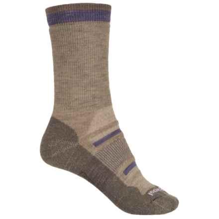 SmartWool Outdoor Advanced Socks - Merino Wool, Crew (For Women) in Oatmeal - 2nds