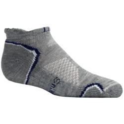 SmartWool Outdoor Light Micro Socks - Merino Wool (For Kids and Youth) in Grey