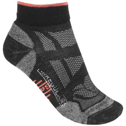 SmartWool Outdoor Light Mini Sport Socks - Merino Wool, Ankle (For Women) in Black - 2nds