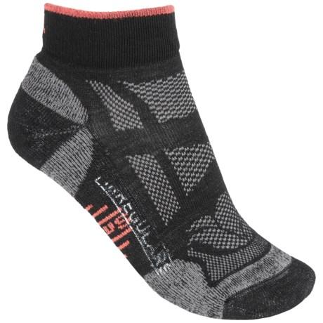 SmartWool Outdoor Light Mini Sport Socks - Merino Wool, Ankle (For Women) in Black