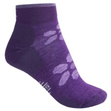 SmartWool Outdoor Light Mini Sport Socks - Merino Wool, Ankle (For Women) in Grape - 2nds