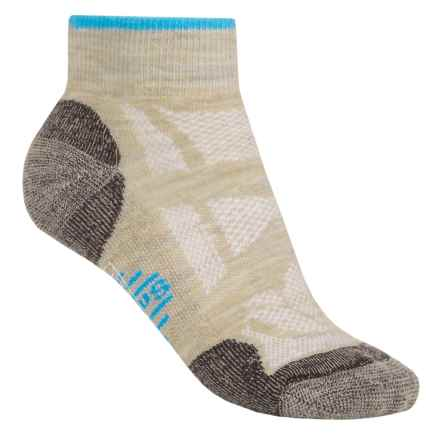 SmartWool Outdoor Light Mini Sport Socks - Merino Wool, Ankle (For Women) in Oatmeal - 2nds