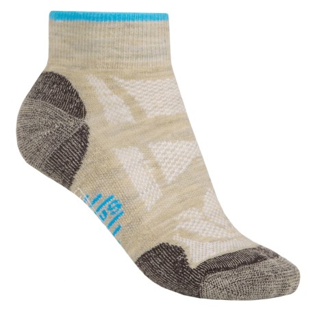 SmartWool Outdoor Light Mini Sport Socks - Merino Wool, Ankle (For Women) in Oatmeal