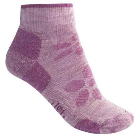 SmartWool Outdoor Light Mini Sport Socks - Merino Wool, Ankle (For Women) in Purple Haze - 2nds