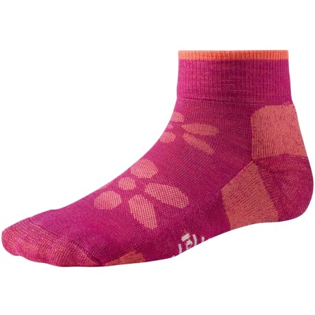SmartWool Outdoor Light Mini Sport Socks - Merino Wool (For Women) in Berry