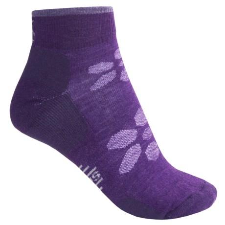 SmartWool Outdoor Light Mini Sport Socks - Merino Wool (For Women) in Blue