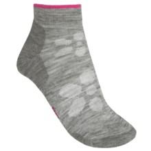 SmartWool Outdoor Light Mini Sport Socks - Merino Wool (For Women) in Light Grey - 2nds