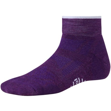SmartWool Outdoor Light Mini Sport Socks - Merino Wool (For Women) in Blue