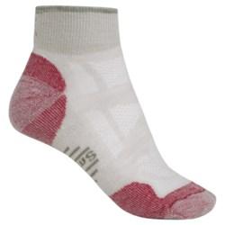 SmartWool Outdoor Light Mini Sport Socks - Merino Wool (For Women) in Silver Grey Heather