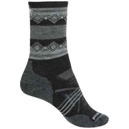 SmartWool Outdoor Midweight Socks - Merino Wool, Crew (For Women) in Charcoal - Closeouts