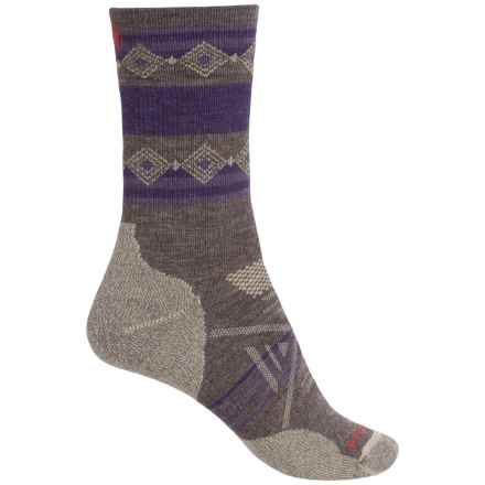 SmartWool Outdoor Midweight Socks - Merino Wool, Crew (For Women) in Taupe - Closeouts