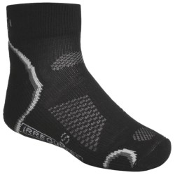 SmartWool Outdoor Socks - Merino Wool, Light Cushion, Quarter-Crew (For Kids and Youth) in Stone