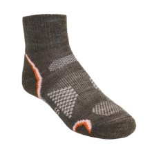 SmartWool Outdoor Socks - Merino Wool, Light Cushion, Quarter-Crew (For Kids and Youth) in Taupe - 2nds