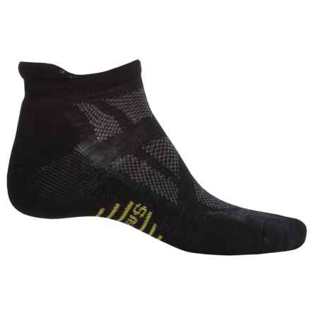 SmartWool Outdoor Sport Light Micro Socks - Merino Wool, Below the Ankle (For Men and Women) in Black - Closeouts