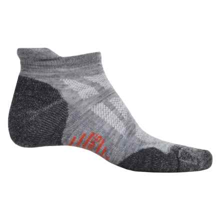 SmartWool Outdoor Sport Light Micro Socks - Merino Wool, Below the Ankle (For Men and Women) in Light Gray - Closeouts