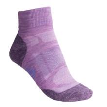SmartWool Outdoor Sport Light Mini Socks - Merino Wool, Lightweight (For Women) in Lilac Heather - Closeouts