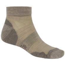 SmartWool Outdoor Sport Light Mini Socks - Merino Wool, Quarter-Crew (For Men and Women) in Oatmeal - Closeouts