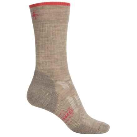 SmartWool Outdoor Sport Light Socks - Merino Wool, 3/4 Crew (For Women) in Oatmeal - Closeouts