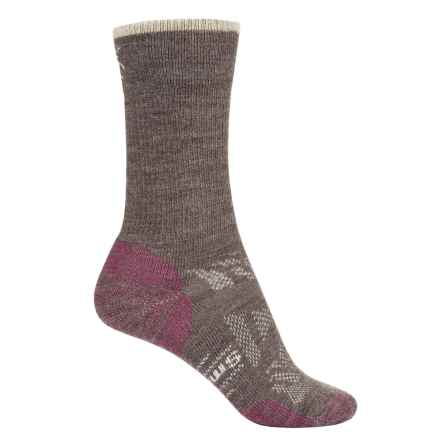 SmartWool Outdoor Sport Light Socks - Merino Wool, 3/4 Crew (For Women) in Taupe - Closeouts