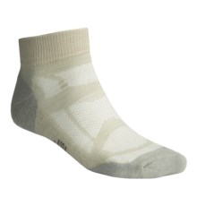 SmartWool Outdoor Sport Light Socks - Merino Wool, Ankle (For Men) in Oyster - Closeouts