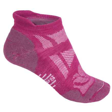 SmartWool Outdoor Sport Light Socks - Merino Wool, Below the Ankle (For Women) in Berry - 2nds