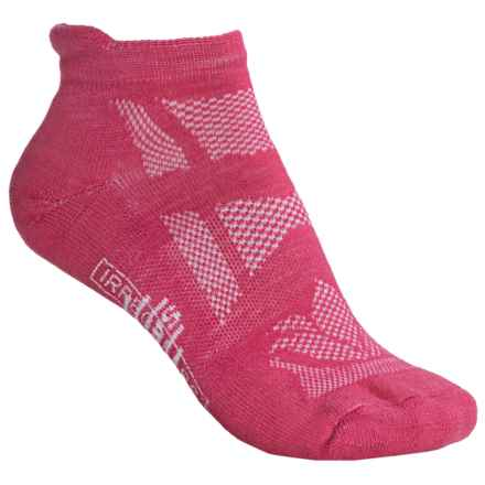 SmartWool Outdoor Sport Light Socks - Merino Wool, Below the Ankle (For Women) in Punch - 2nds