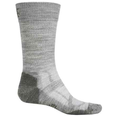 SmartWool Outdoor Sport Light Socks - Merino Wool, Crew (For Men and Women) in Ash - Closeouts
